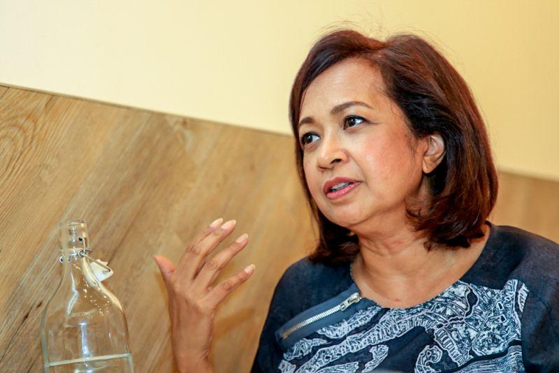 Datin Paduka Marina Mahathir said she was very impressed by Parlimen Digital as it had proved that it is completely possible to carry out parliamentary proceedings virtually. ― Picture by Saw Siow Feng
