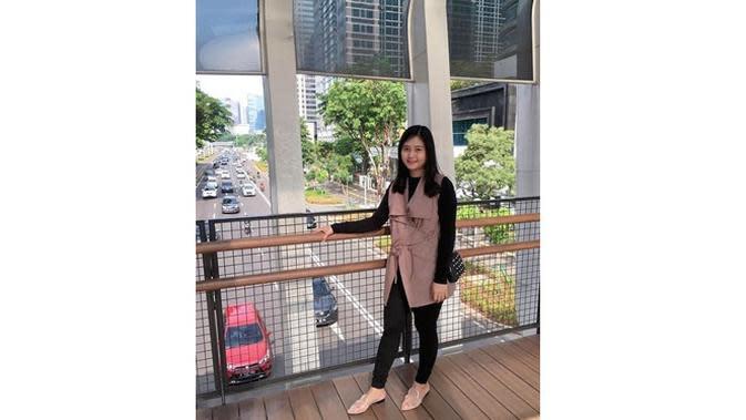 5 Pesona Gabriella Hocky, Istri Oktafianus Fernando Winger Persebaya (sumber: Instagram.com/loexyanta)