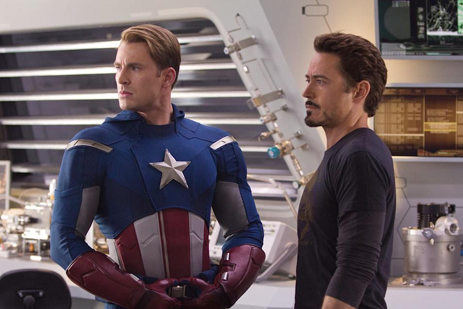 The Avengers 2012 Marvel Chris Evans Robert Downey Jr.