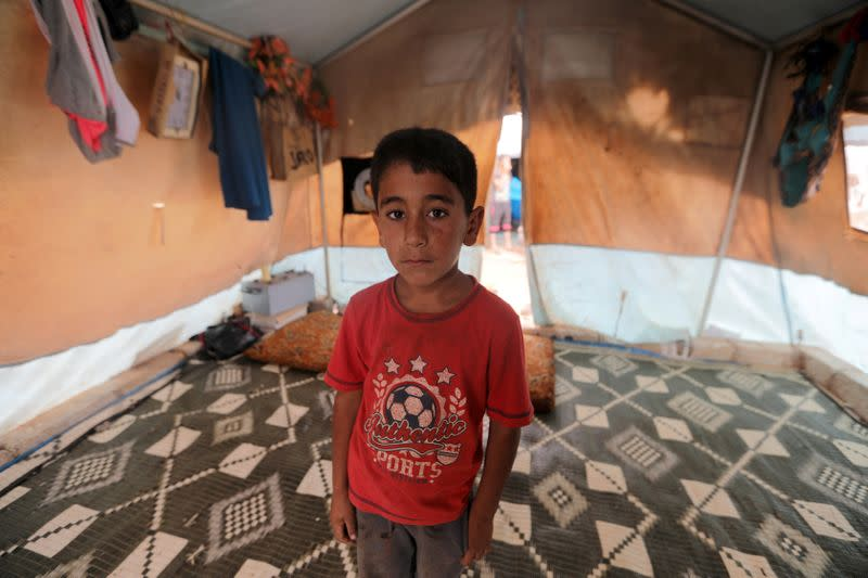Nine years of war. Nine portraits of kids who dream of home