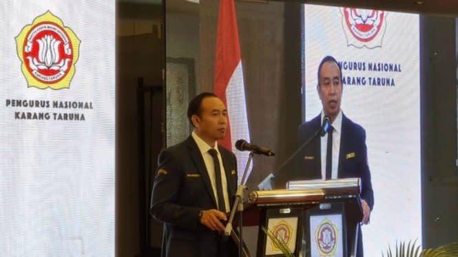 Gibran Jadi Ketua Majelis Pertimbangan Karang Taruna Nasional