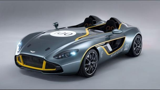 Aston Martin celebrates 100 years with the CC100 speedster