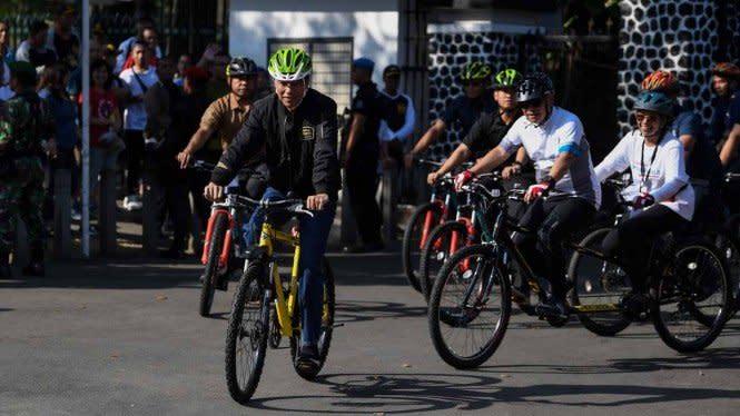 Pemerintah Akan Keluarkan Aturan Bersepeda di Jalan