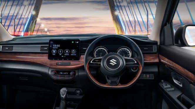Sistem hiburan baru di Suzuki Ertiga versi Thailand