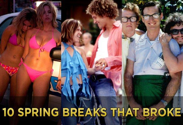10 Spring Breaks That Broke