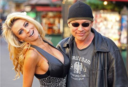 Courtney Stodden and Doug Hutchison are seen at The Grove in Los Angeles on December 6, 2011 -- Getty Premium