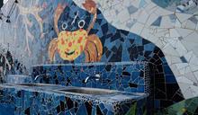 東管處都歷園區中心洗手台 成大型裝置藝術 (圖)