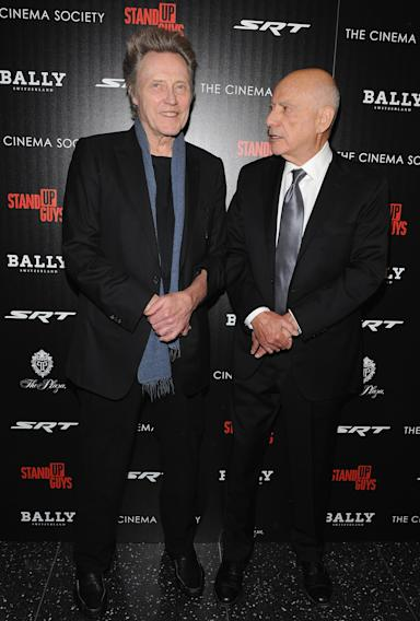 """The Cinema Society With Chrysler & Bally Host The Premiere Of """"Stand Up Guys"""" - Arrivals"""