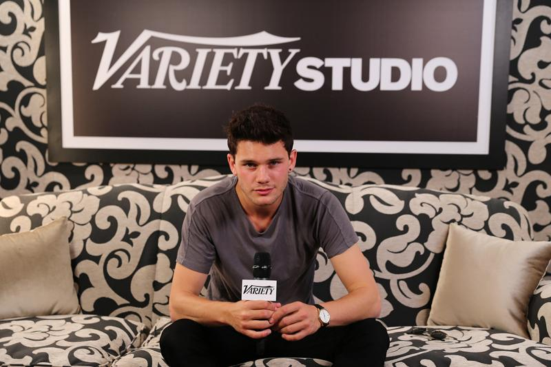 VIDEO: Jeremy Irvine Visits the Variety Studio in Cannes