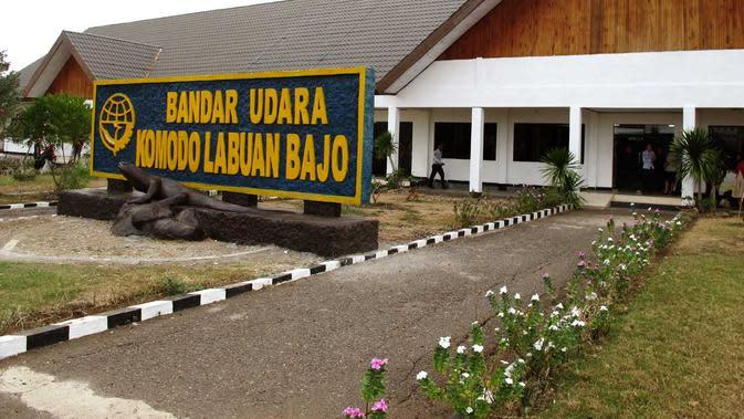 Bandara Komodo Labuan Bajo. (Wikipedia)