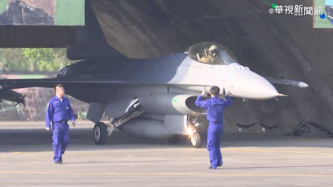 捍衛台海 F-16V戰機6分鐘升空迎敵