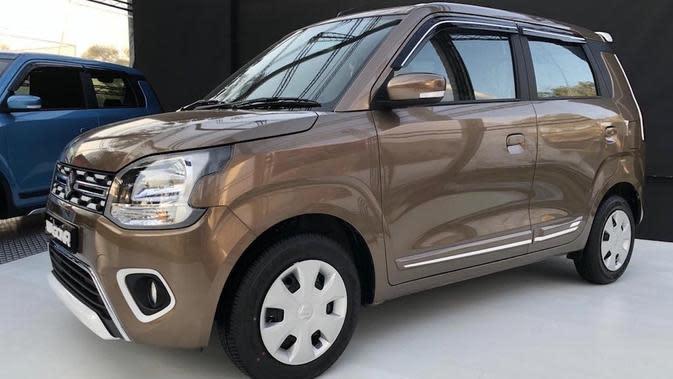 Suzuki Wagon R Terbaru Berbahan Bakar Gas