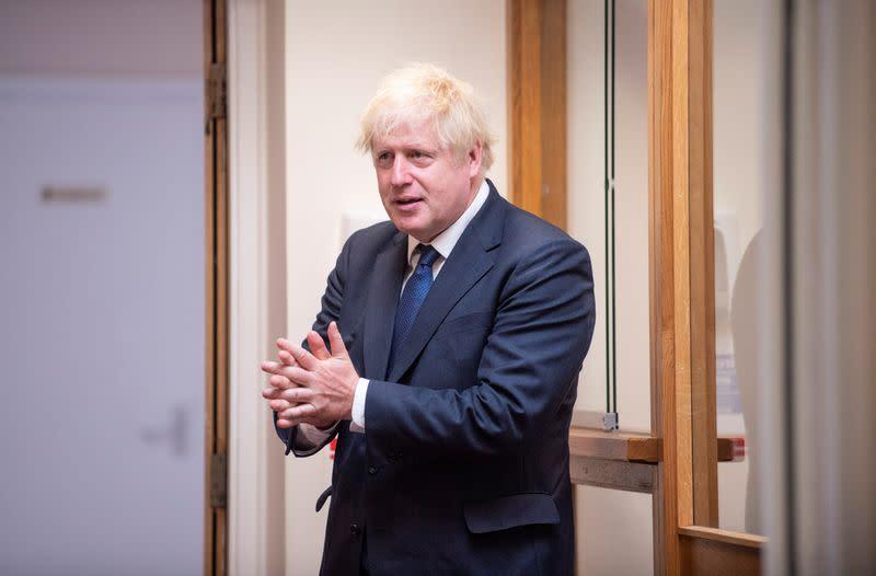 PM Johnson to talk up UK unity on Northern Ireland visit