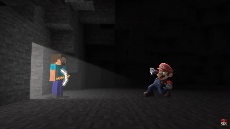 Petarung baru di Super Smash Bros. Ultimate datang dari Minecraft