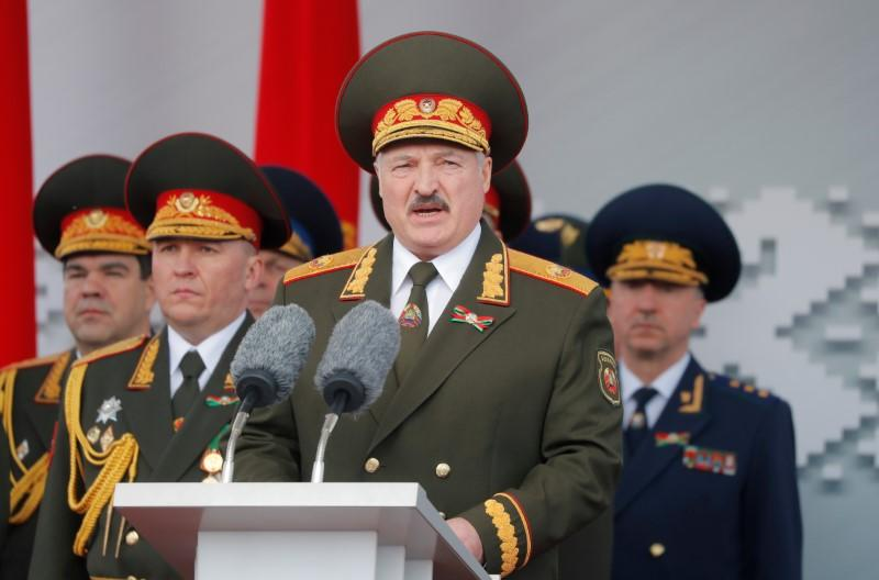 Belarus president dismisses government, Belta news agency says