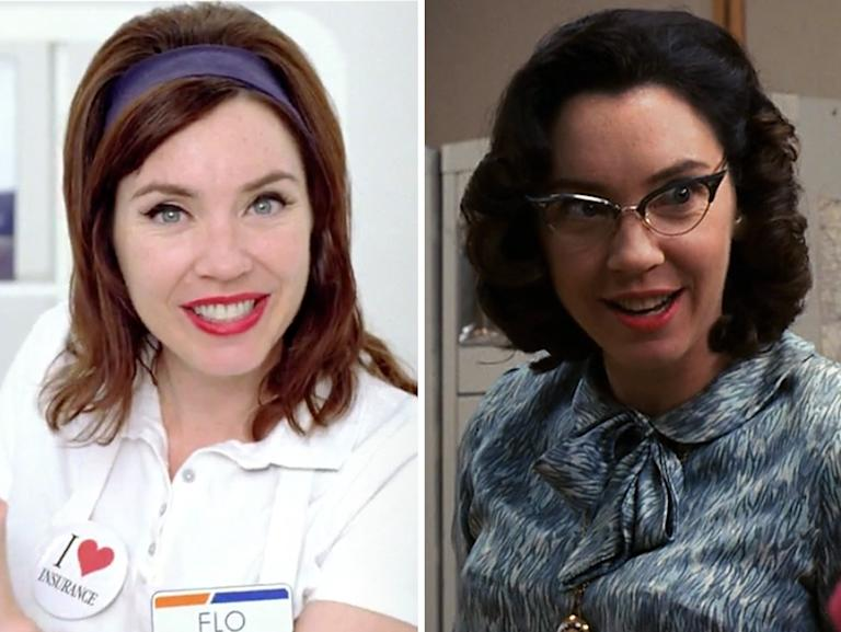 Stephanie Courtney (Flo from the Progressive ads)