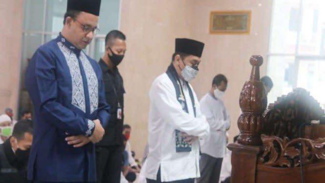 Resmikan Masjid TIM, Anies Sebut Babak Baru Jakarta