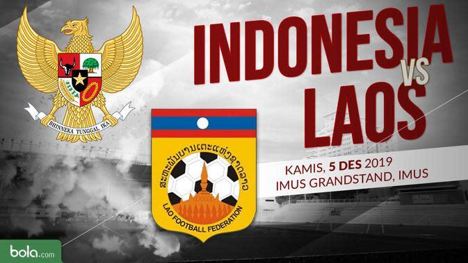 Sepak Bola Putra SEA Games 2019: Indonesia vs Laos. (Bola.com/Dody Iryawan)