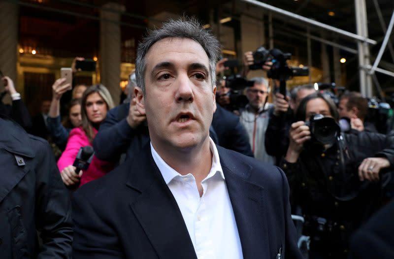 Mantan pengacara Trump, Michael Cohen minta pengurangan hukuman