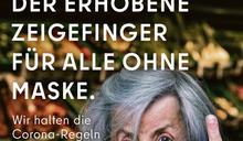 不戴口罩就送你中指!德國「柏林式幽默」防疫廣告引爭議慘遭下架