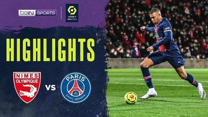 VIDEO: Kylian Mbappe Cetak Dua Gol Saat PSG Lumat Nimes 4-0