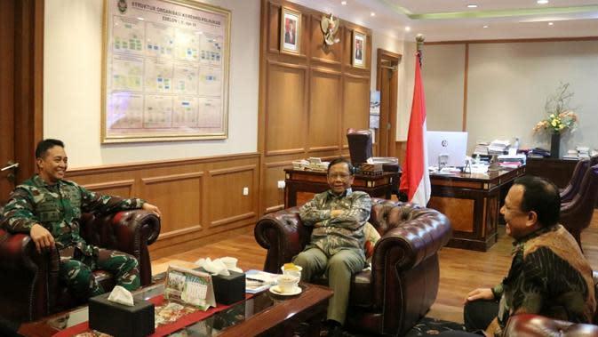 Ketua KPK, Kepala BIN dan KSAD Dipanggil Mahfud Md, Ada Apa?