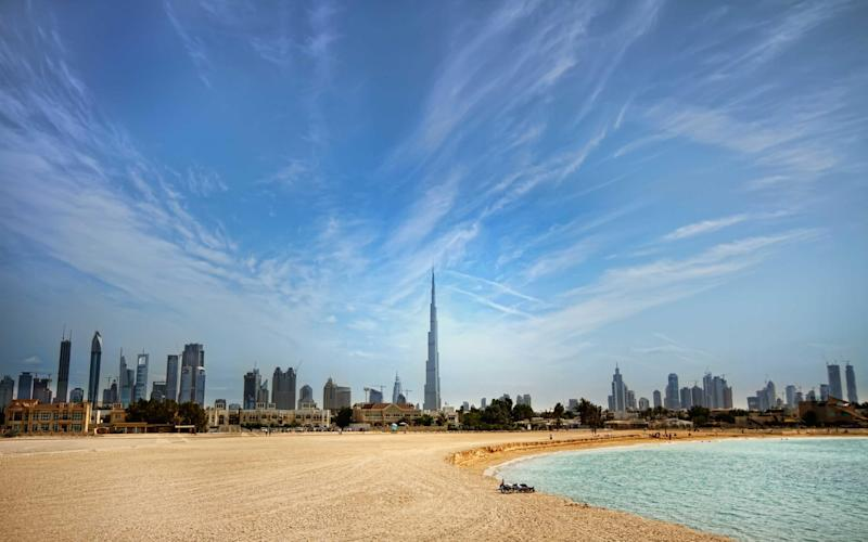 Dubai beach scene - Getty