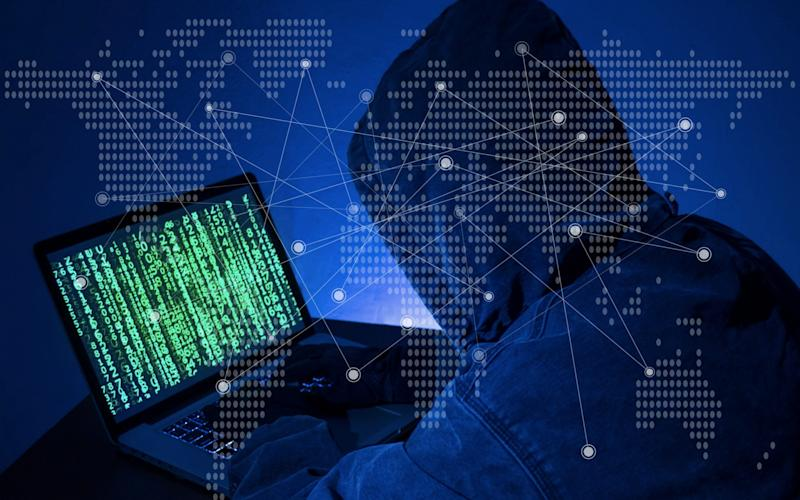 Computer hacker or Cyber attack concept background - seksan Mongkhonkhamsao/Getty Images Contributor