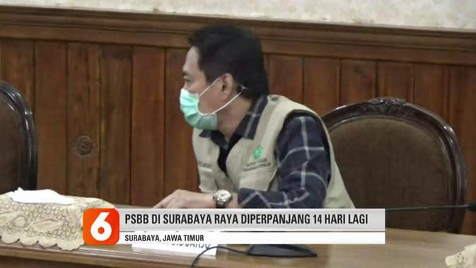 VIDEO: Perpanjangan PSBB Surabaya Raya hingga 25 Mei 2020