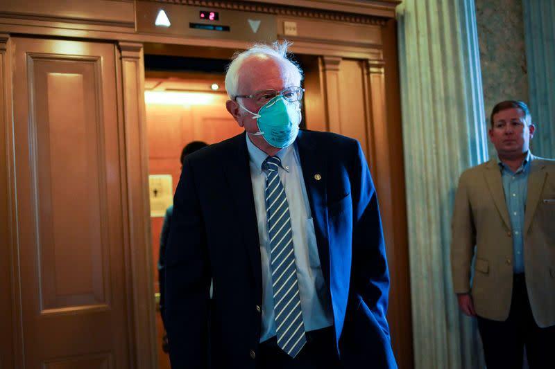 Sanders warns about U.S. transfer of power, says Trump 'prepared to undermine democracy'