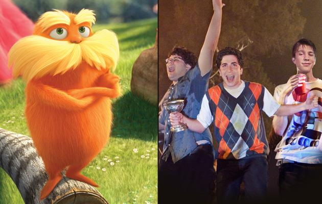 Weekend Picks: 'Dr. Seuss' The Lorax' & 'Project X'