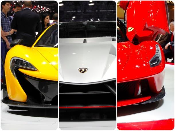 Tale of the tape: McLaren P1 vs. Lamborghini Veneno vs. LaFerrari