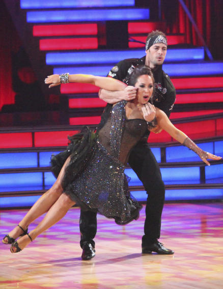 Cheryl Burke and William Levy (4/09/12)