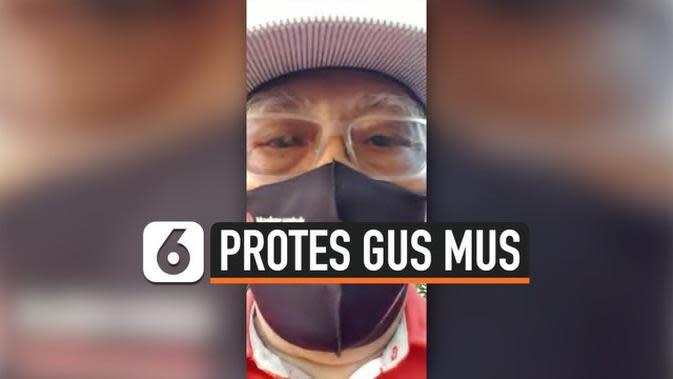 VIDEO: Gus Mus Protes Pemda Rembang, Ini Reaksi Ganjar Pranowo