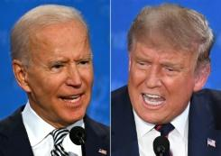 Positif covid Trump mengacaukan jadwal debat presiden