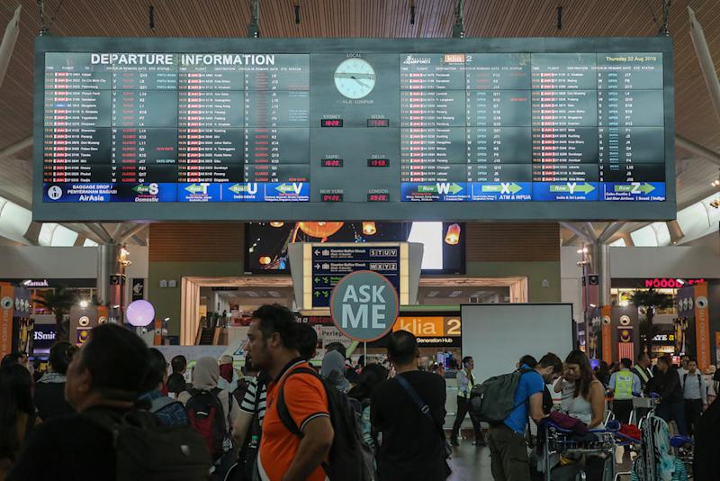 KLIA's operator Malaysia Airports Holdings Berhad (MAHB) denied that the waiting time is to generate additional revenue, as claimed by some parties. — Picture by Yusof Mat Isa