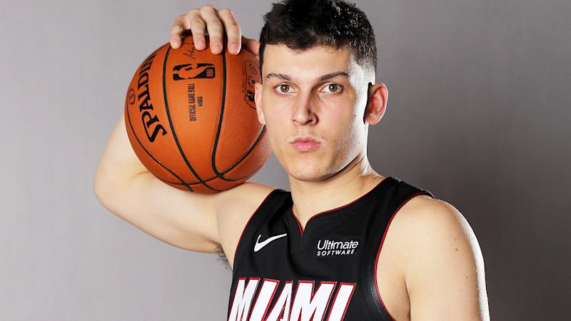 Miami's Tyler Herro stood out during Summer League, making him a tantalising prospect in Fantasy Basketball. (Photo by Elsa/Getty Images)