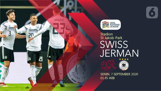 Swiss vs Jerman (Liputan6.com/Abdillah)