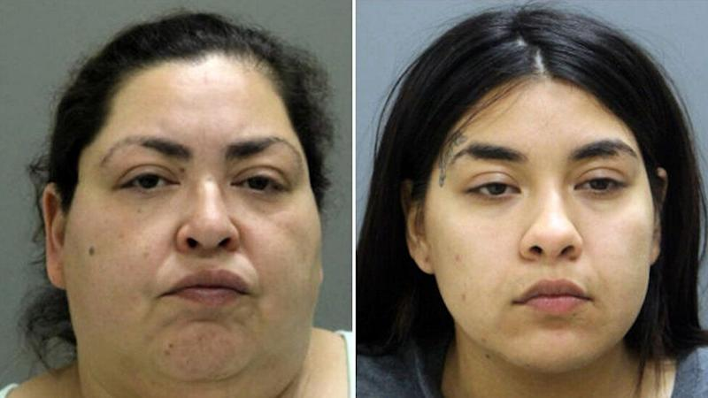 Clarisa Figueroa (left) and her daughter, Desiree Figueroa have been charged with the murder of Marlen Ochoa-Lopez