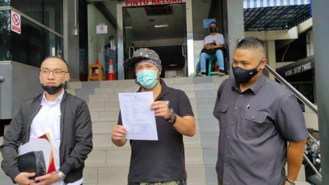 Dituding Lakukan Pelecehan Seksual, Hendric Shinigami Lapor Polisi
