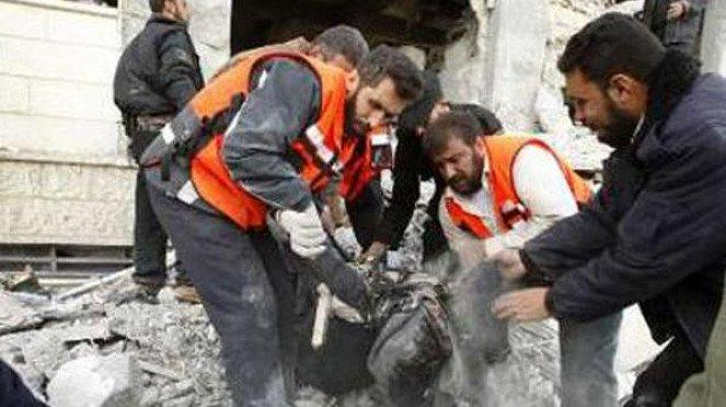 Akibat serangan Israel ke Jalur Gaza