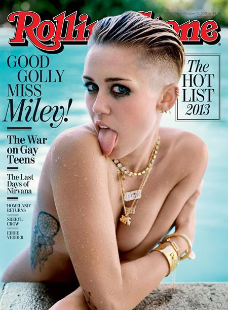 From Hannah Montana to Wild Child: Miley Cyrus Reveals Path To 'Grown-Up' in Rolling Stone Cover Story