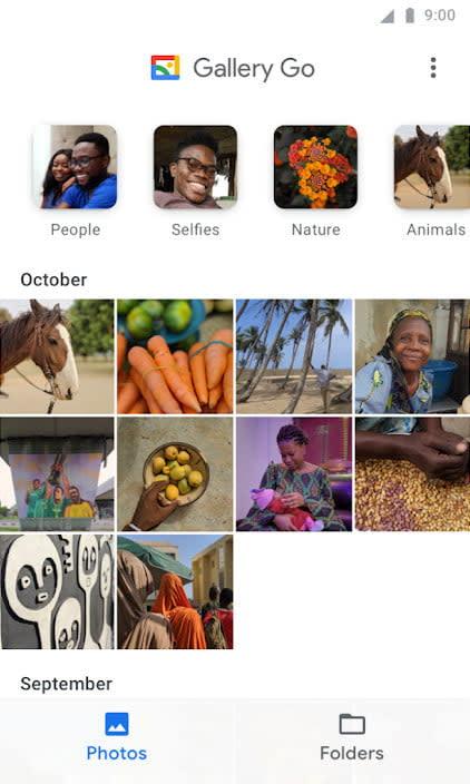 best lite apps gallery go 2