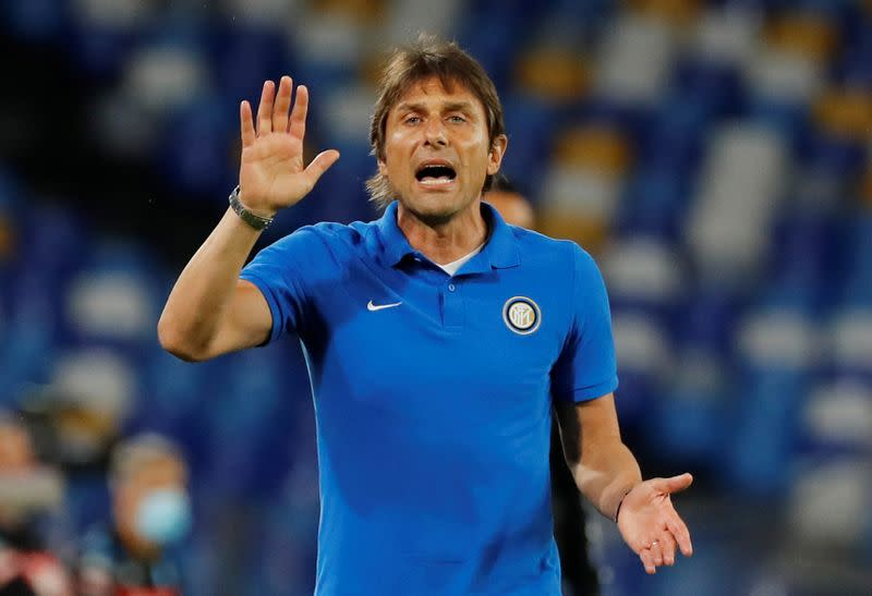 Inter title challenge still alive and kicking, says Conte