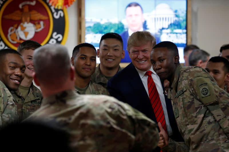 No phones, scripted tweets - How Trump's Afghanistan trip was kept under wraps