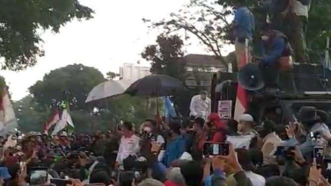KAMI Jabar Mengaku Sokong Dana Demo Omnibus Law di Bandung