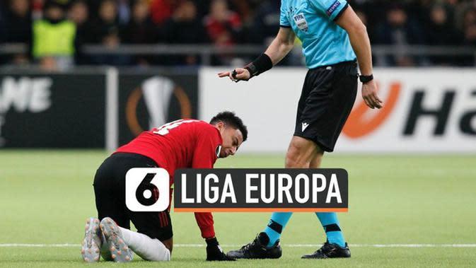 VIDEO: Kekalahan Perdana Manchester United di Liga Europa