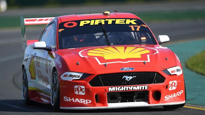 Scott McLaughlin has narrowly missed a pole clean sweep