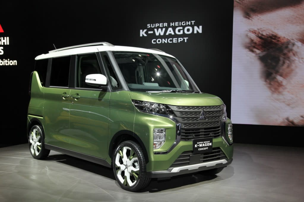 【東京車展】Mitsubishi Super Height K-Wagon Concept預覽下一代eK Space
