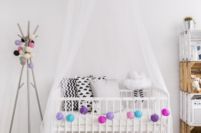 Fairy lights could also pose a risk to babies [Photo: Getty]